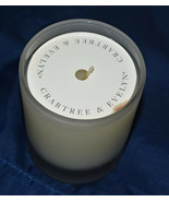 """Vintage EVELYN ROSE Scented 3-1/2"""" Jar Candle by CRABTREE & EVELYN   RAR... - $28.95"""