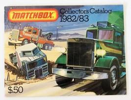 Vintage 1982/83 Matchbox Lesney Collector Giocattolo Fornitore Catalogo ... - $28.74