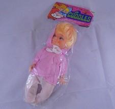 "Vintage 8"" Blonde Cuddles doll Pink Hooded shirt Gordy Intl. Hong Kong R... - $11.29"