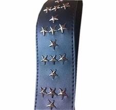 Custom Leather Guitar Strap Star Rivet Bass Guitar Strap
