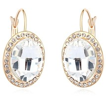SHDEDE Drop Earrings Jewelry Red Crystal from Swarovski Fashion Accessor... - $24.57