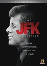 THE JFK COLLECTION DVD Set History Channel Jacqueline Onassis Joseph Ted... - $30.68