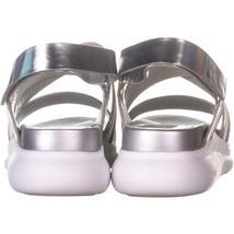 Cole Haan 2 Zerogrand Criss Cross Sandals 703, Argento, 10.5 US image 3