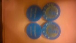 4 B.P.O.E. 2353 Drink Tokens (Blue) - $10.00