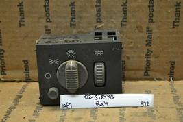 99-02 GMC Sierra Headlight Dome Switch OEM 15755595 bx4 Lock 572-10f7 - $9.99