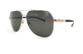 Dolce & Gabbana Men's Sunglasses DG2133K 488/58 Basalto Gold Edition Italy - New - $595.00