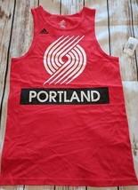 LZ Adidas Boy's M 10/12 Portland Trail Blazers Tank Top A-Shirt Shirt NE... - $12.19