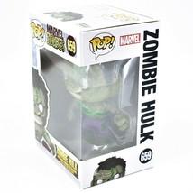 Funko Pop! Marvel Zombies Zombie Hulk #659 Bobble-Head Vinyl Figure image 2