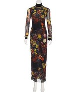 STUNNING, SOLD OUT, JEAN PAUL GAULTIER MESH FLORAL MAXI DRESS  - $595.00