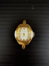 A Ntique 1937 Womens Waltham Wrist Watch 10K Rolled Gold Plate For Repair / Parts - $23.75