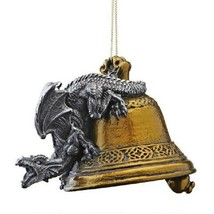 Humdinger the Bell Ringer Gothic Dragon Holiday Ornament 2011 - $18.15