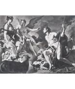 MYTHOLOGY Nude Juno Iris & Io - Original Photogravure Print - $17.28