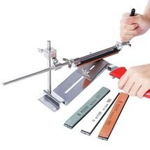 Sistema afilador de cuchillos de cocina con 4 piedras amoladoras Ruixin Pro - $25.18
