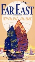 "Pan Am - Pan American Airlines ""Fart East"" Magnet - $7.99"
