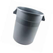 Corella Round Trash Can (20 Gallon, Grey) - $113.93