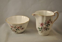 Royal Grafton Creamer and Open Sugar Bowl England - $15.88