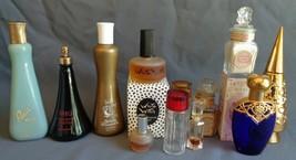 12 Pc Lot Vintage 1960s 70s Perfume Cologne Bottles Coty Dana Avon Faber... - $24.99