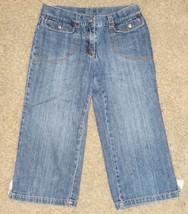 Gymboree Spring Rainbow Denim Capri Jeans Pants Size 12 - $12.19
