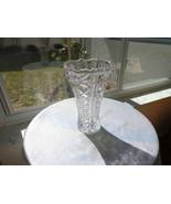 "Crystal Clear Dorsett Pattern 8"" Centerpiece Vase - $14.85"