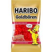 Haribo Goldbaren/ Gold Bears - Raspberry -75g- Made In Germany-FREE Shipping - $5.89