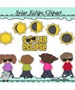 Solar Clipse Clip Art Aug 21st 2017 Clip Art - $1.25