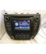 15 16 17 Toyota Camry Display Screen Radio Cd Player P10803 86140-06370 ... - $336.60
