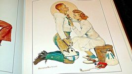 The Best of Norman Rockwell Hard cover Book AA20- CP2172 Vintage image 5