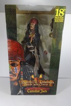 "NECA Pirates of the Caribbean 18"" Cannibal Jack Sparrow Action Figure w/... - $46.40"