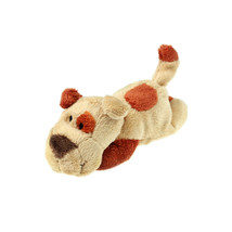 MagNICI Dog Brown Stuffed Toy Animal Magnet in Paws 5 inches 12 cm - $11.00