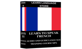 Learn To Speak FRENCH Complete Audio Course on MP3 - $1.99