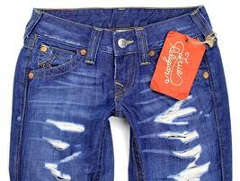 True Religion Women's Premium Denim Jeans Joey Super T 7D-Valley WB82075E4 image 3