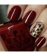 OPI Bond 007 SKYFALL Dark Vampy Red w/ Brown Creme Nail Polish Lacquer D... - $27.25