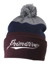 Primitive New Era Color Blocks Pom Beanie Winter Skate Ski Hat NWT