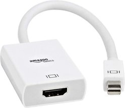 Mini DisplayPort Male to HDMI Female Display Adapter Cable Amazon Basics - $6.99
