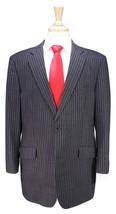 * ETRO * Recent Black w/ Purple/Brown Stripes Wool Fleece Modern Fit Sui... - $210.00