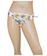Jessica Simpson Women's Swimsuit Bikini Bottom Hipster Flowers and Lace ... - $4.99