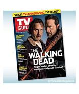 WALKING DEAD TV GUIDE ANDREW LINCOLN NEGAN JEFFREY DEAN MORGAN November ... - $7.91