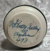Desert Pueblo Pottery Vase Vintage Artist Betty Selly Signed 498 No Chips image 4