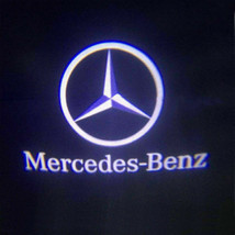 For Mercedes-Benz Courtesy Door LED Logo Projector Light 2Pc Welcome Light CLA - $16.70