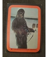 1977 Star Wars STICKER #19 The Wookiee Chewbacca - £2.61 GBP