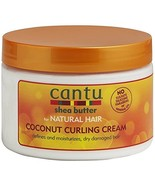 Cantu Shea Butter for Natural Hair Coconut Curling Cream 12 oz. - $10.93