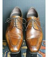 """Men's Mezlan """"Nigel"""" Antiqued Burnished Leather Oxford Sz 9M MINT! - $56.53"""