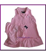 NWT Chaps Pink Butterfly Dress Bloomer Set Size 18 M - $11.99