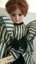 Seymour Mann Kate Porcelain Doll Ltd Ed Scarlett O'Hara Gone w/ Wind Gre... - $49.45