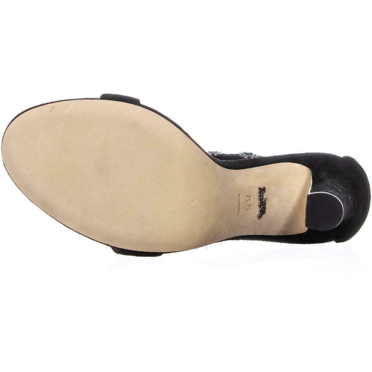 Coach Elizabeth102 Ankle Strap Sandals, Black image 6
