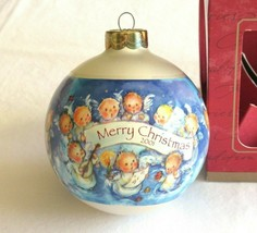 2001 Hallmark Christmas Tree Ornament Mary Hamilton Angel Chorus USA Bal... - $9.99