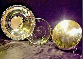Vintage Elegant Oneida Stainless Steel Serving ware with design lid USAAA19-1413 image 3