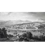 PITTSBURGH Pennsylvania - CIVIL WAR Era Print - $39.60