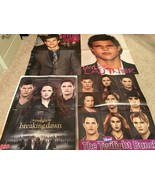 Taylor Lautner teen magazine pinup poster clippings lot Twilight shirtle... - $40.00