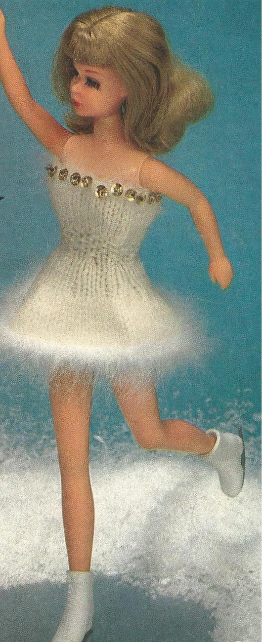 Fashion Doll Wardrobe Knit & Crochet for all Seasons~16 +Outfits Pattern Leaflet